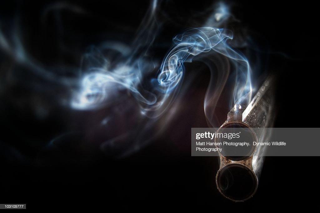 The Smoking Gun : Stock Photo