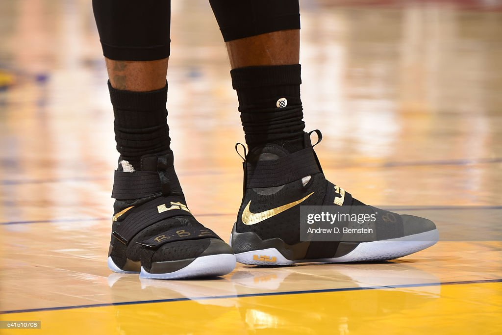 lebron james shoes 2016 finals. the sneakers of lebron james #23 cleveland cavaliers during game against lebron shoes 2016 finals