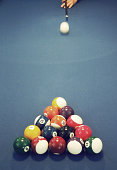 the snooker game