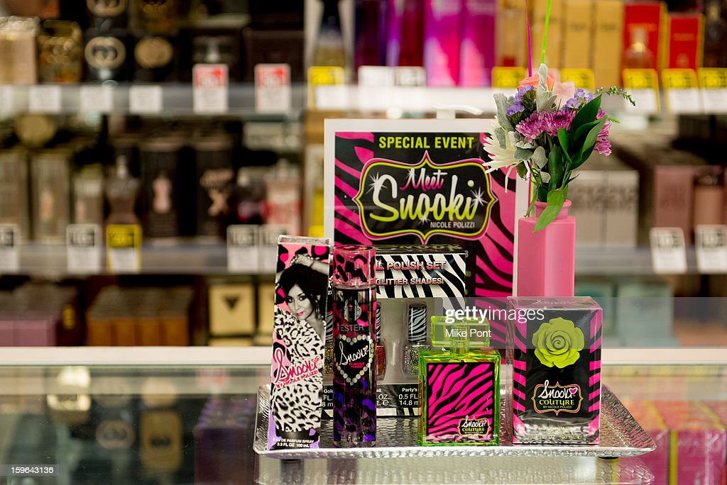 The Snooki Couture & Snooki Nails launch at Perfumania on January 17, 2013 in the Queens borough of New York City.