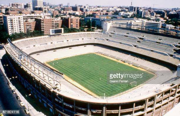 The soccer stadium 'Santiago Bernabeu' of the 'Real Madrid' Madrid Spain