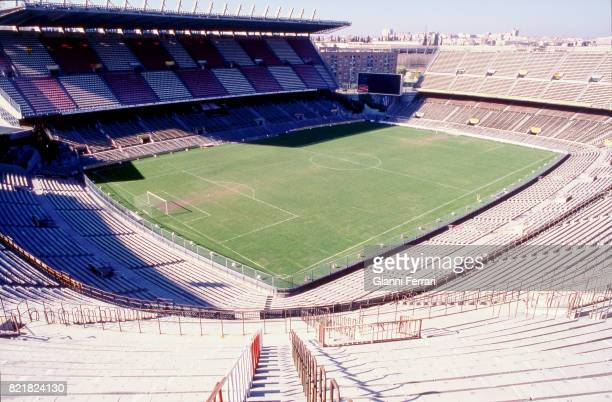The soccer stadium 'Vicente Calderon' of the'Atletico de Madrid' Madrid Spain