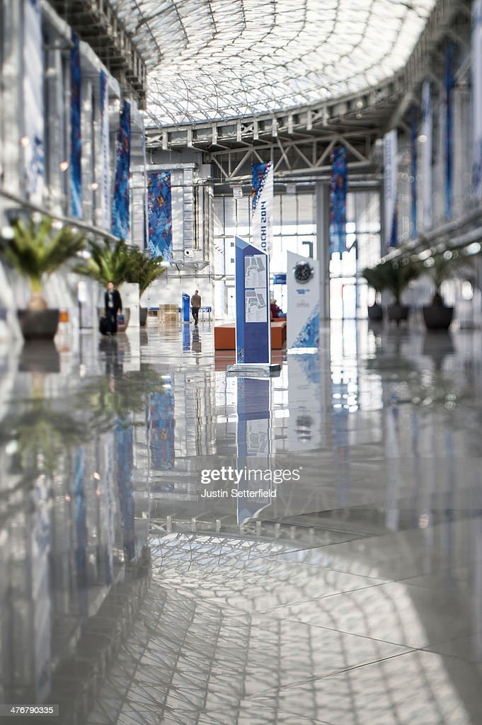 The Sochi 2014 Main Press Centre ahead of the 2014 Paralympic Winter Games on March 5 2014 in Sochi Russia