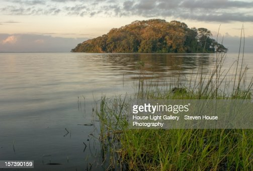 The Solentiname Archipelago : Stock Photo
