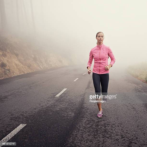 The solitude of an early jog