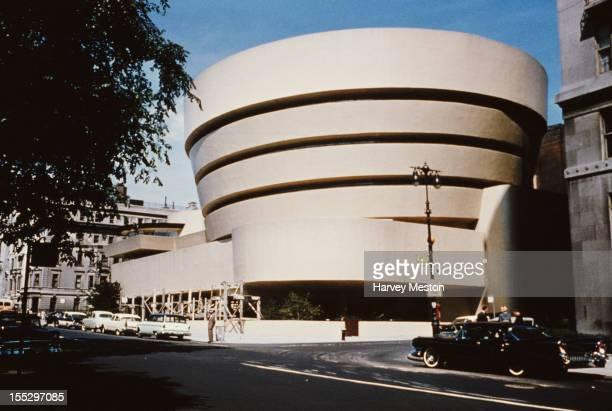 The Solomon R Guggenheim Museum in Manhattan New York City circa 1960