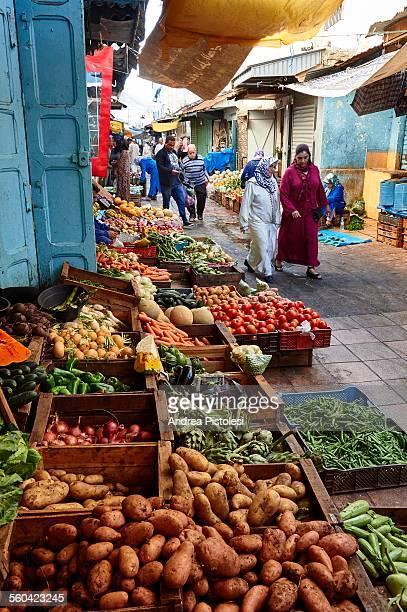 The Souk in the Medina of Rabat, Morocco