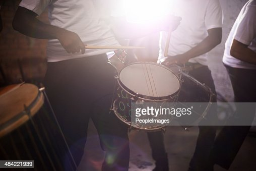 The sounds of perfect percussion