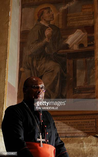 The South African cardinal Wilfrid Fox Napier born in 1941 archbishop of Durban was raised to the rank of cardinal in 2001 by Jean Paul II thus...