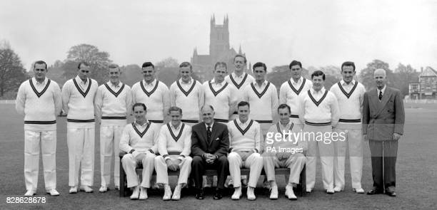 The South African party now in England for the 1960 cricket tour Left to right Back row JPothecary HJTayfield GGriffin AHMcKinnon PCarlstein...
