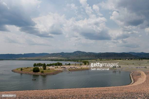 The south boat ramp at Chatfield Reservoir on June 22 in Littleton Colorado The Army Corp of Engineers has decided Chatfield Reservoir can...
