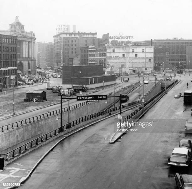 The south expressway near Dewey Square in Boston June 25 1959