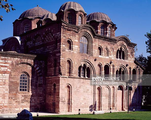 The south facade and parekklesion of the Monastery of the Theotokos Pammakaristos 11th14th century Byzantine art historic areas of Istanbul Turkey