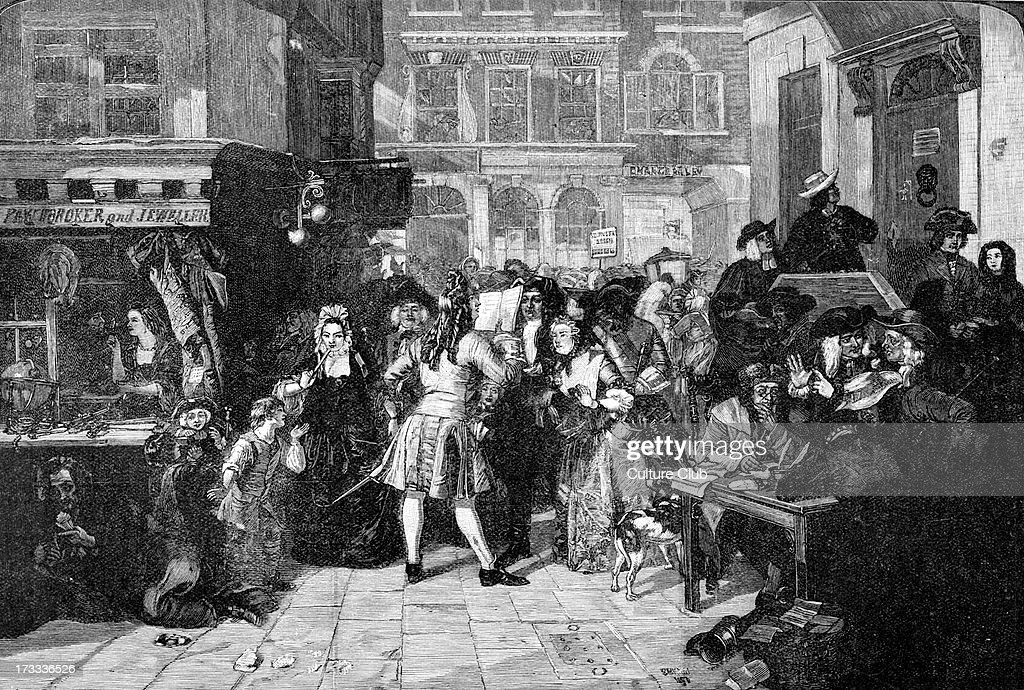 The South Sea Bubble after the original by E MWard RA The South Sea Company traded with South America in 1700s but speculation in its stock...