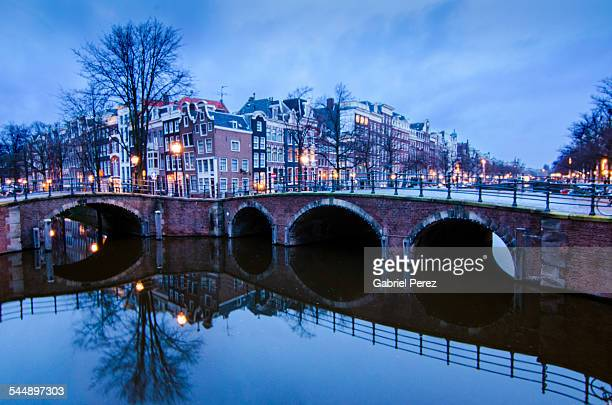 The Southern Canals of Amsterdam