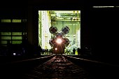 The Soyuz TMA19M spacecraft is transported to a launch pad at the Russianleased Baikonur cosmodrome in Kazakhstan early on December 13 2015 Russia's...