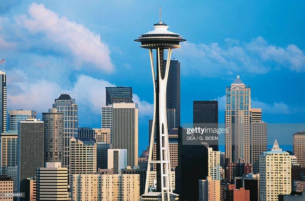 The Space Needle 19611962 designed by John Graham John K Minasian and Victor Steinbrueck Seattle Washington United States of America