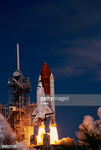 The space shuttle Discovery lifts off on STS26 NASA's first shuttle mission after the Challenger explosion
