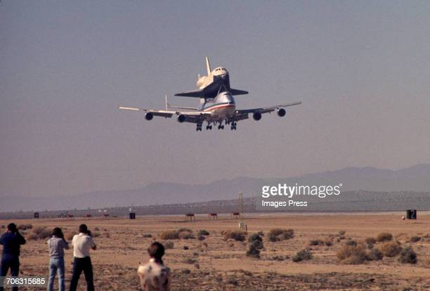 The Space Shuttle Enterprise circa 1977