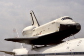 The Space Shuttle Enterprise the first Space Shuttle Orbiter was originally to be named Constitution in honor of the US Constitution's Bicentennial...