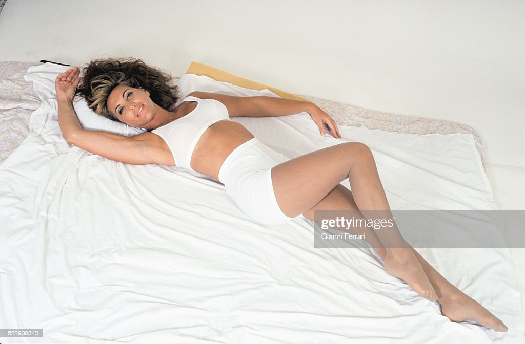 The Spanish actress and singer Norma Duval during a photo shoot Madrid Spain