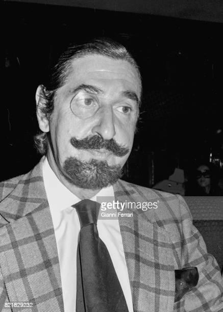 The Spanish aristocrat actor and pianist Jaime de Mora y Aragón brother of the Queen of Belgium Fabiola Madrid Spain