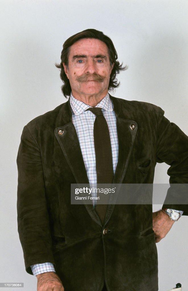The Spanish athlete, journalist and television presenter Miguel de la Quadra-Salcedo 1999, Madrid, Madrid, Spain. (Photo by Gianni Ferrari/Cover/Getty Images).