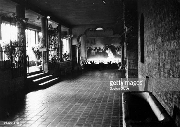 The Spanish Cloister on the first floor of the Isabella Stewart Gardner Museum in Boston on Nov 14 1966