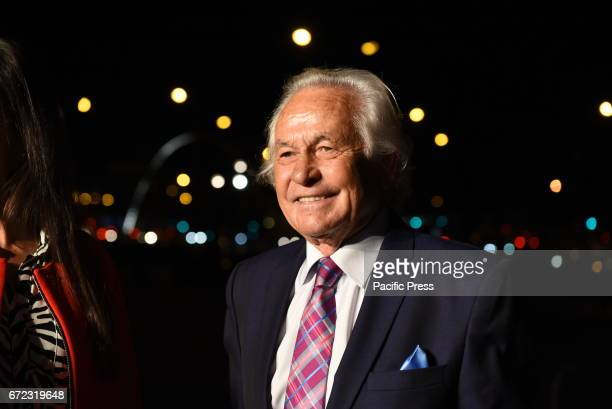 The Spanish exbullfighter Palomo Linares 69 yearsold pictured during the presentation of the 'San Isidro 2017' fair in Madrid on March 8 2017