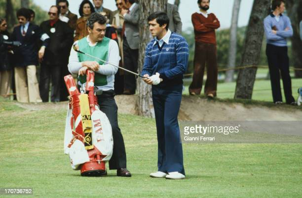 The Spanish golfer Severiano Ballesteros during a tournament Madrid Castilla La Mancha Spain