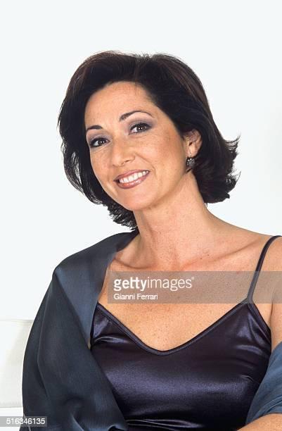 The Spanish television presenter Ana Rosa Quintana Madrid Spain