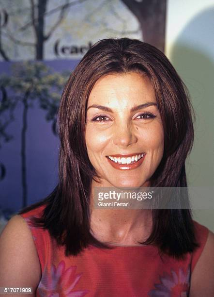 The Spanish television presenter and actress Mar Flores Madrid Spain