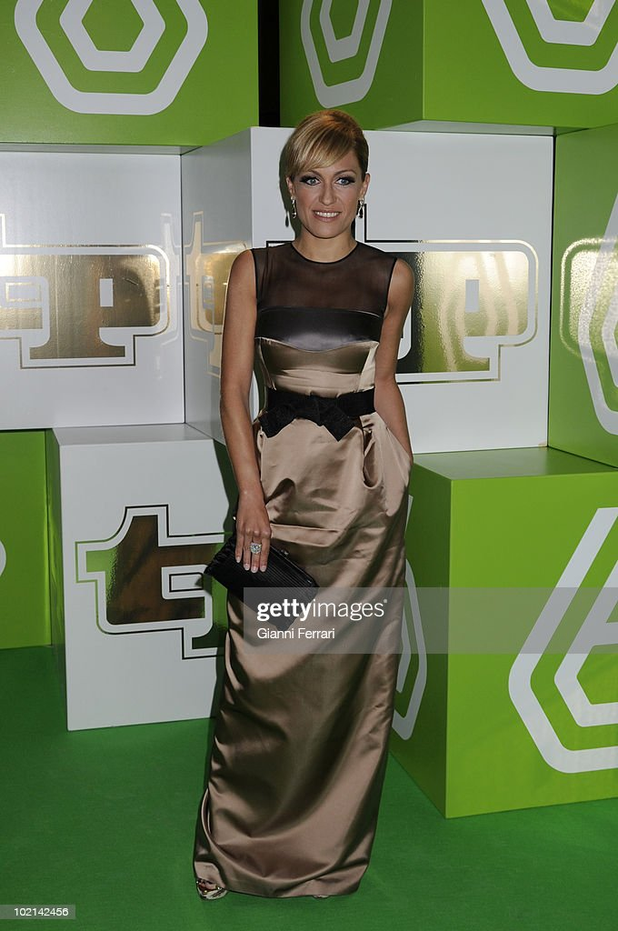 The spanish TV presenter Lujan Arguelleto the delivery of the awards 'TP of Gold' for the best presenters, actors and programs of the Spanish televisions, 10 February 2009, 'Palacio de Congresos', Madrid, Spain.
