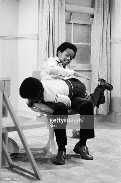 RENT STROKES 'The Spanking' Episode 5 Pictured Gary Coleman as Arnold Jackson Todd Bridges as Willis Jackson