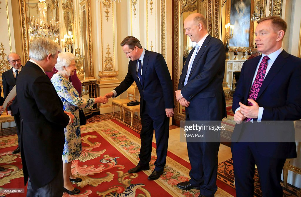 Parliamentary Address At Buckingham Palace