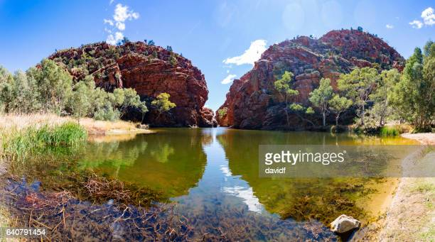 The Spectacular Ellery Creek Big Hole Waterhole in Northern Territory, Australia