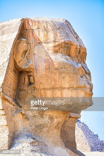 The Sphinx of Giza, Egypt