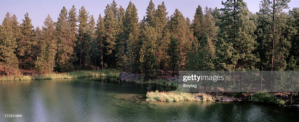'The Spokane River, Post Falls, Idaho, United States'
