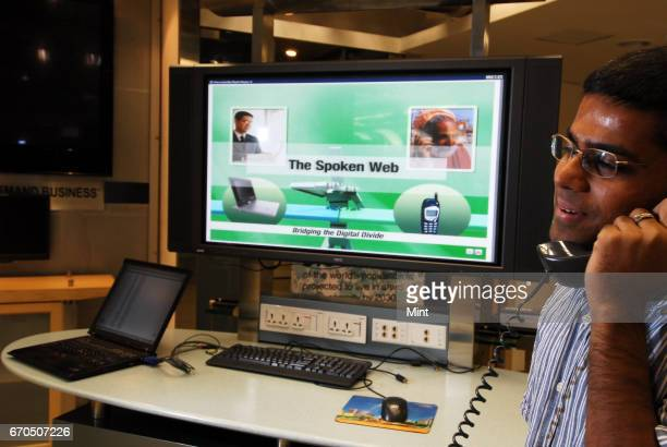 'The spoken web' developed by Anupam Jain a senior staff software engineer from IBM