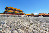 The square of the Forbidden City