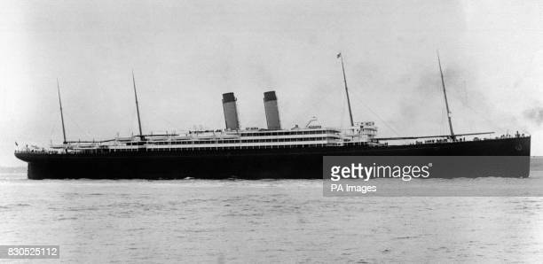 The SS 'Baltic' one of the vessels which went to the aid of the illfated White Star Liner 'Titanic' which sank on the night of the 1415/4/1912 after...