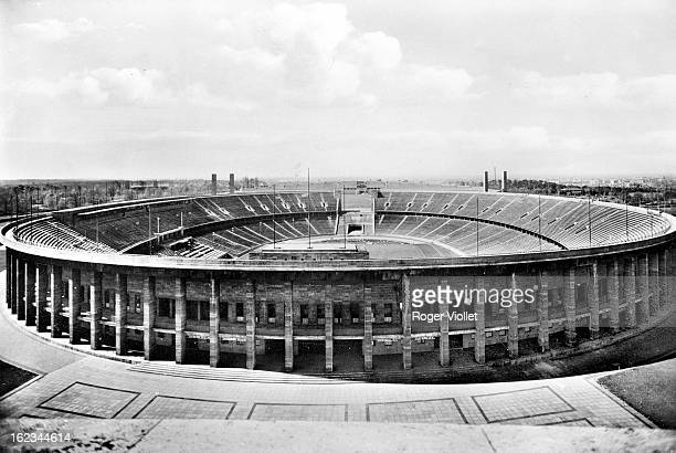 The stadium built for the 1936 Olympic Games Berlin