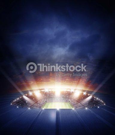The stadium : Stock Photo
