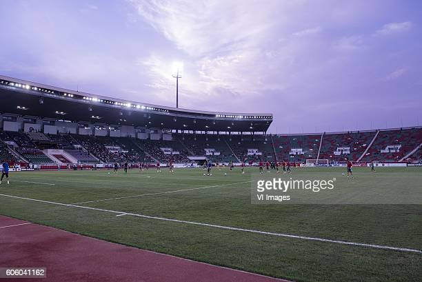 the stadium Prince Moulay Abdellah during the Africa Cup of Nations match between Morocco and Sao Tome E Principe at September 4 2016 at the Complexe...
