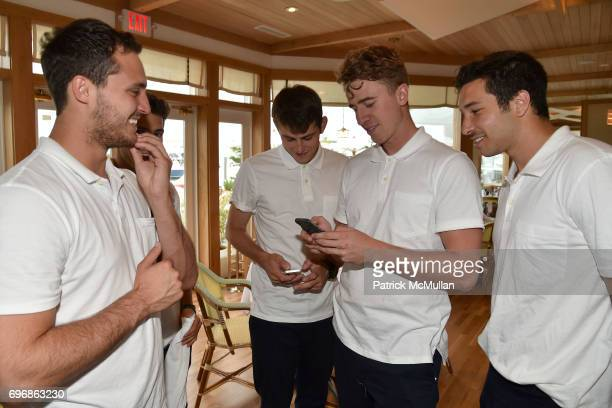 The staff of Le Bilboquet attend Cocktails to Learn About The Sag Harbor Cinema Project at Le Bilboquet on June 16 2017 in Sag Harbor New York