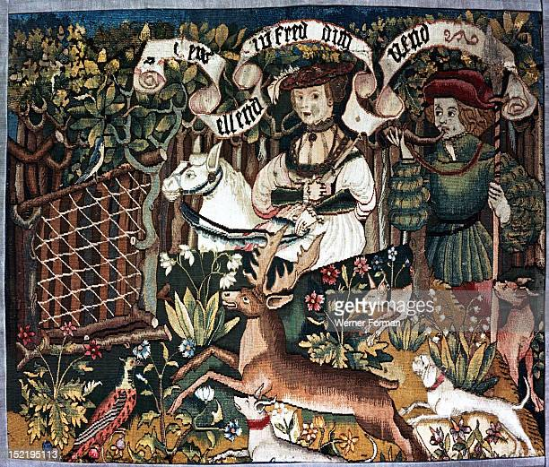 The Stag Hunt Germany possibly Alsace end of the 15th c