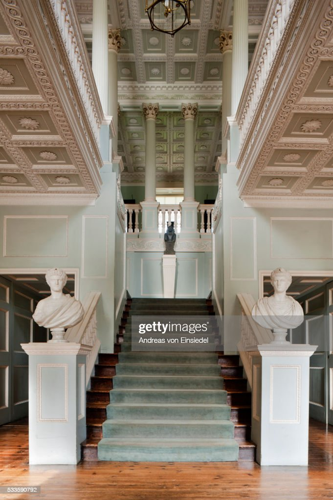 The Staircase Hall at The Vyne, Hampshire.