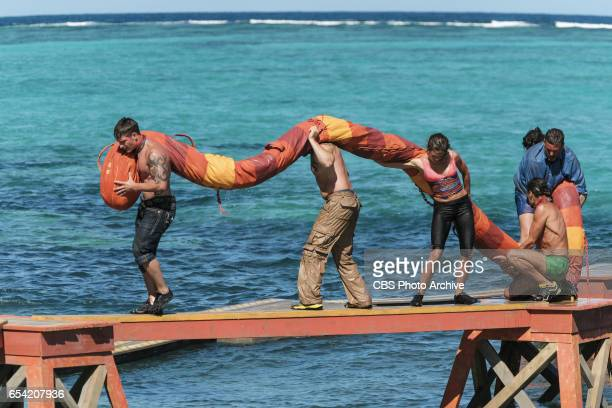 'The Stakes Have Been Raised' Caleb Reynolds Tony Vlachos Hali Ford Troyzan Robertson and Jeff Varner on SURVIVOR Game Changers The Emmy Awardwinning...