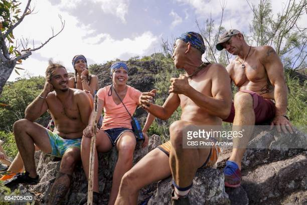 'The Stakes Have Been Raised' Oscar 'Ozzy' Lusth Sierra DawnThomas Sarah Lacina Tai Trang and Brad Culpepper on SURVIVOR Game Changers The Emmy...