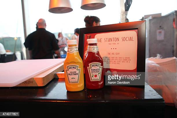 The Stanton Social display at Amstel Light Burger Bash presented by Pat LaFrieda Meats hosted by Rachael Ray during the Food Network South Beach Wine...